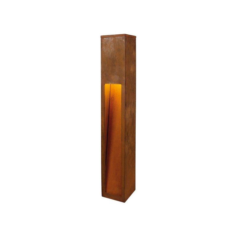 rusty slot 80 eisen gerostet e27 esl max 11w ip44 g nstig. Black Bedroom Furniture Sets. Home Design Ideas