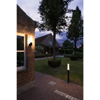 SLV APONI LED Outdoor Wandleuchte, anthrazit, 3000K, IP65