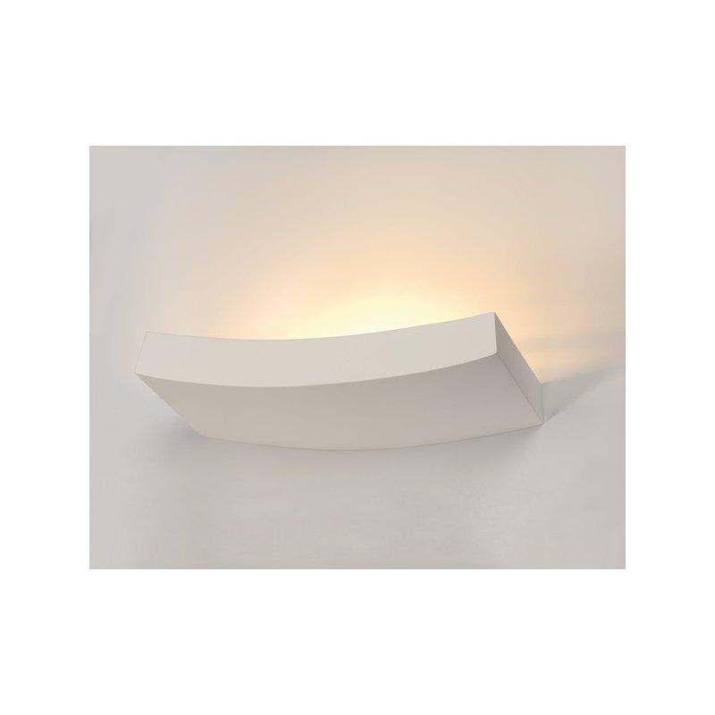 wandleuchte gl 102 curve weisser gips r7s g nstig online. Black Bedroom Furniture Sets. Home Design Ideas
