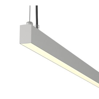 SLV AROSA 2m, TRIAC PD, LED Indoor Pendelleuchte, alu, 3000K