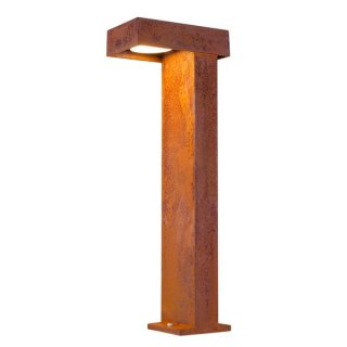 SLV RUSTY PATHLIGHT 70, LED Outdoor Stehleuchte, rost farbend, IP55, 3000K