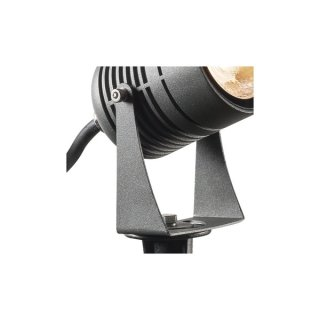 SLV LED SPIKE, LED Outdoor Erdspießleuchte, anthrazit, IP55, 3000K, 40°